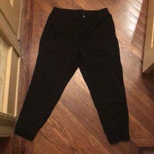 Black Uniqlo Work Pants